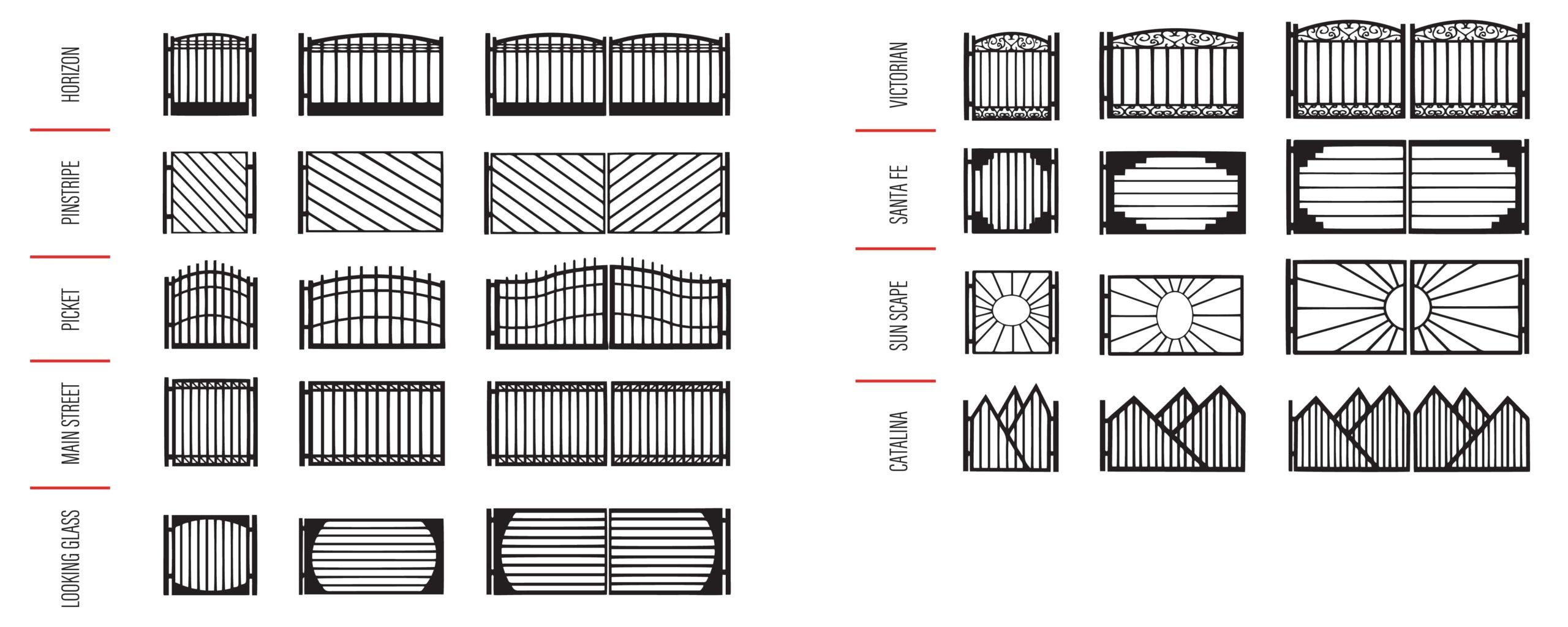 Gate Design Ideas in Pinetop - Kaiser Garage Doors & Gates