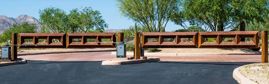 Commercial Gates in Pinetop - Kaiser Garage Doors & Gates