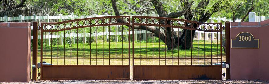 Residential Gates in Pinetop - Kaiser Garage Doors & Gates